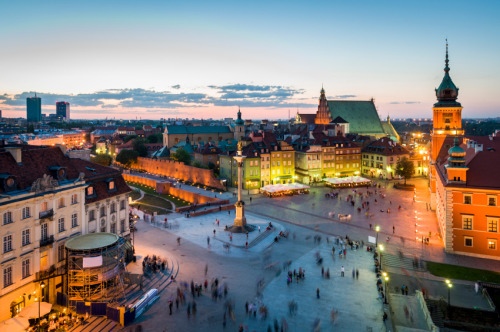 travelingcolors:  Old Town panorama of Warsaw | Poland (by Absolute Publishing)