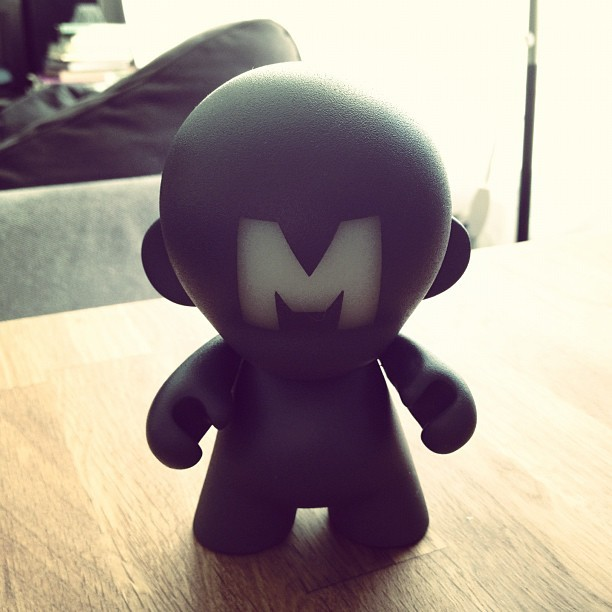 1st #Munny down! The easy one. #glowinthedark (Taken with Instagram at HAUS)