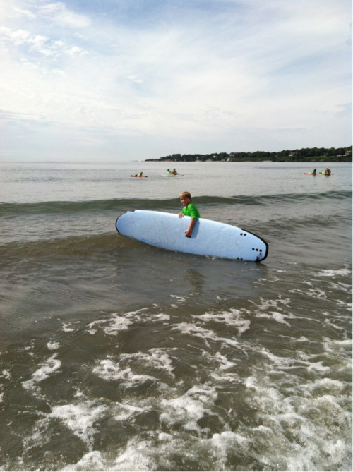 Surfing lessons in Newport