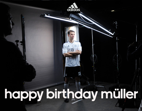 Happy Birthday Muller  Photography: Bogarts