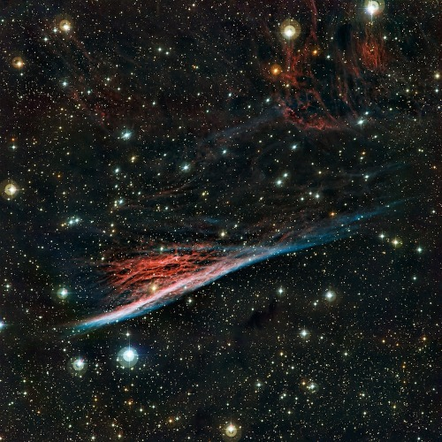 uraniaproject:  Witch's Broom  Image: ESO [high-resolution]