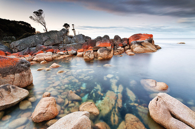 Bay of Fires by Luke Tscharke on Flickr.