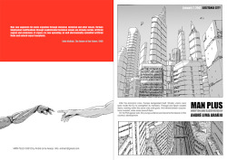 arquicomics:  The Art of André Lima Araújo: MAN PLUS: Prologue via @klaustoon
