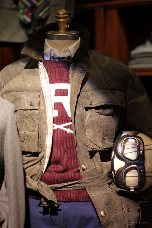 rugbyrl:   Inside the Shop: Covent Garden, London  London-based blog Preposity took a few amazing shots at our London shop. Check them all out here. (Thanks, Preposity!)
