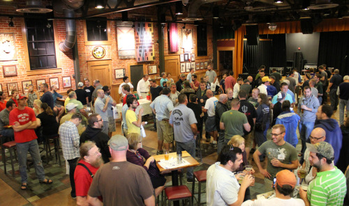 This past Saturday, we gave away 1,030 gallons of wort to 206 homebrewers for our 3rd annual competition. Deadline for entries is Oct. 26. The winner will be announced on All Stouts Day - Nov. 4 at the Eccentric Cafe. Check out photos from the Homebrew Expo as well as the wort giveaway here. Good luck to all and cheers!