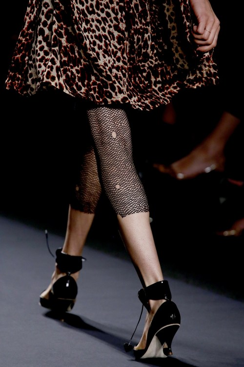 It's more the feeling of Anna Sui that I like than the actual collection. You just want to be an Anna Sui woman.