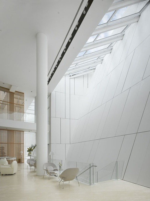 justthedesign:  OCT Shenzhen Clubhouse by Richard Meier & Partners
