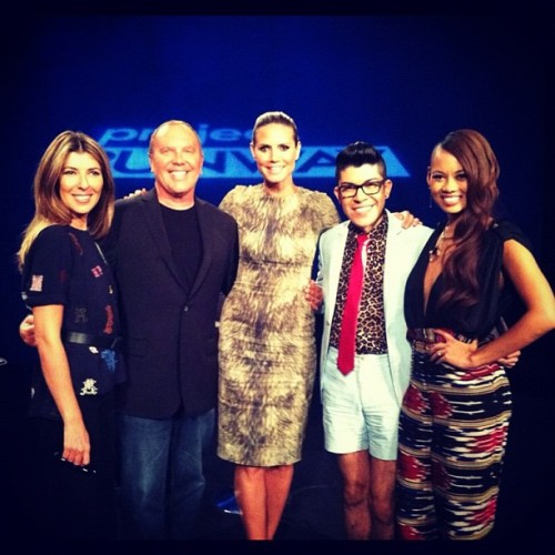 Guess who's a guest judge on tonight's episode of @ProjectRunway ! @heidiklum @lovemondotrasho @lifetimetv @marieclairemag  (Taken with Instagram)