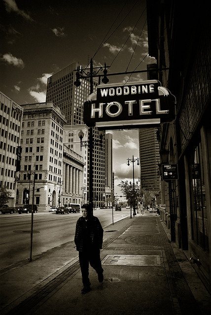 Woodbine Man. Winnipeg, Manitoba, 2009.