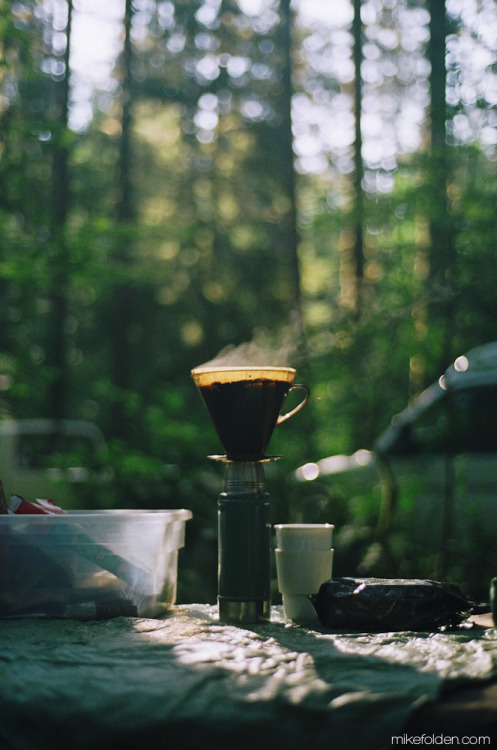 patagonia:  Camp Coffee. Capitol Forest, WA.