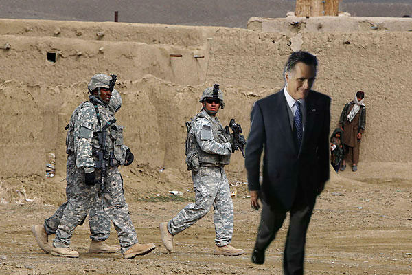 sayethsimon:  Smirking Mitt walks away from our troops. @SmirkingMitt