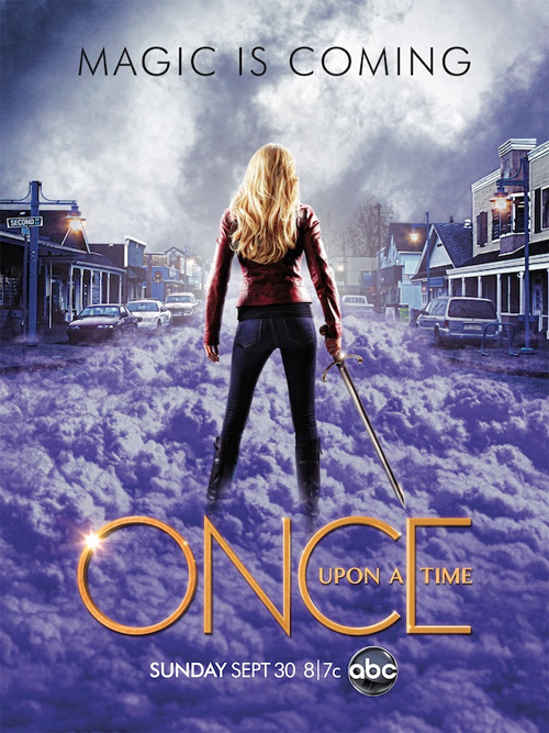 whyweloveonceuponatime:  First Official Season 2 Poster {x}