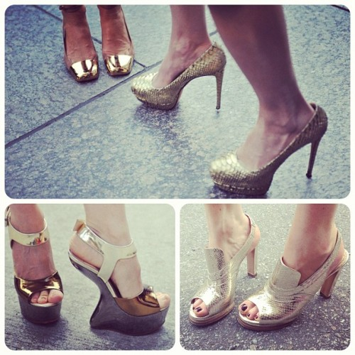 netaporter:  High-shine shoes steal the show at #NYFW. http://bit.ly/Nq8qwA