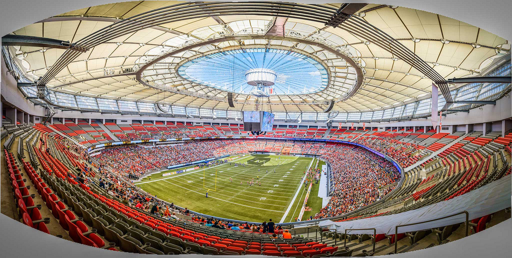 CFL Football: BC Place Stadium (by kazinvan)