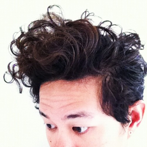 Morning hair, Le curls (Taken with Instagram)