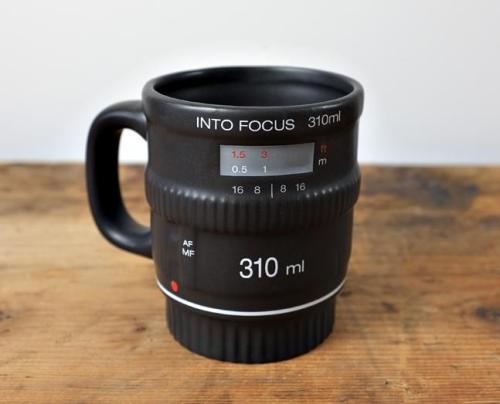 Camera Lens Mug Available here
