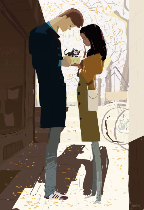 "pascalcampion:  We'll call her ""Autumn"""