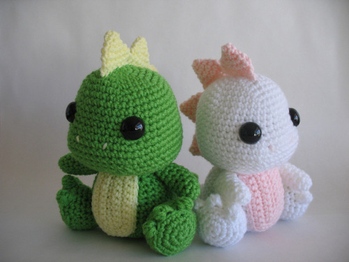 andagiselle:  Amigurumi Dinosaur by djonesgirlz on Flickr.