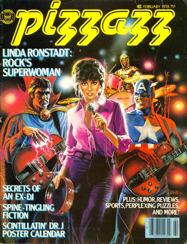 midtowncomics:  The greatest band of all time: Linda Ronstadt, Doctor Strange, Captain America & C-3PO.