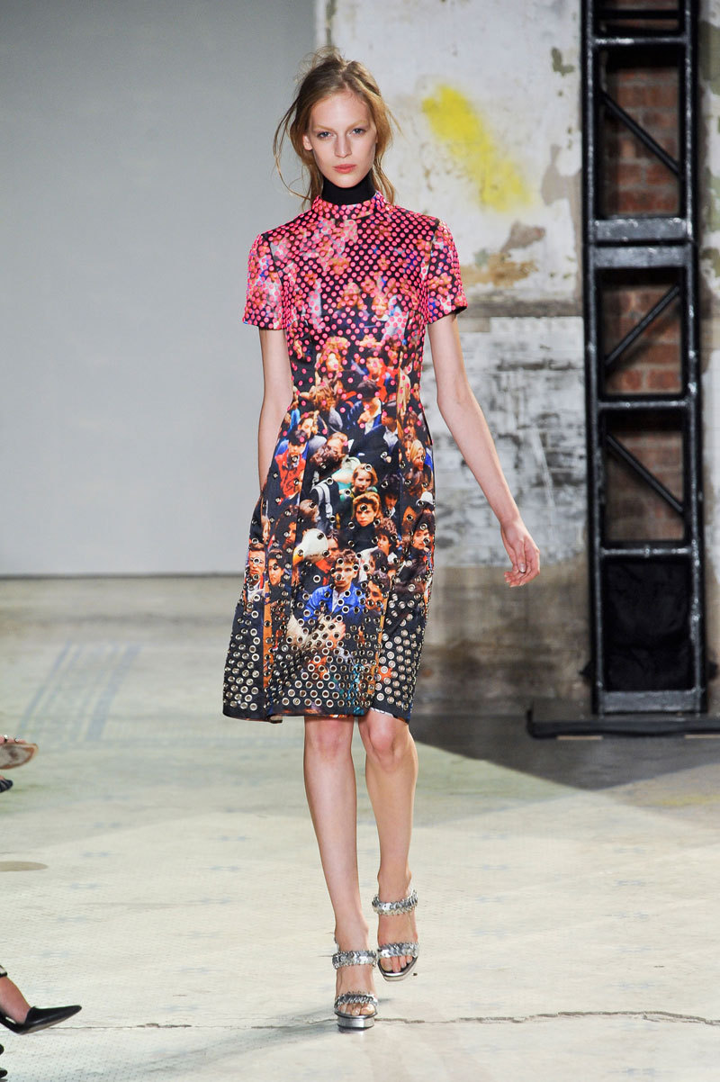 Proenza Schouler Spring 2013 Photo Credit: Imaxtree