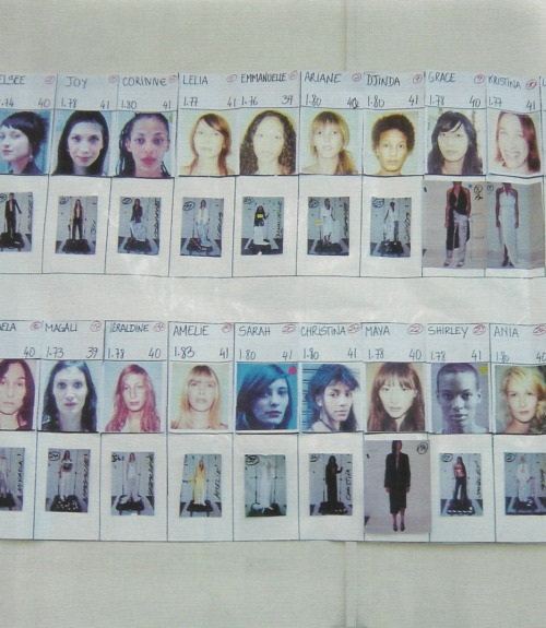 petrole:  maison martin margiela spring summer 2006 line up