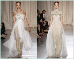 Marchesa SS'13 at New York Fashion Week: The Indian Summer I've been waiting for… Stunning!!