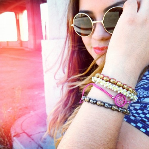 "ashtianah: SPOTTED! Anarchy Street Arm Candy! Xo. ""All your life, you've never seen a woman, taken by the wind"". Wearing @anarchy_street #anarchystreet and @hmusa  (Taken with Instagram at Los Angeles)"