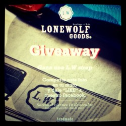 @contest @giveaway @lonewolfgoods (Taken with Instagram)