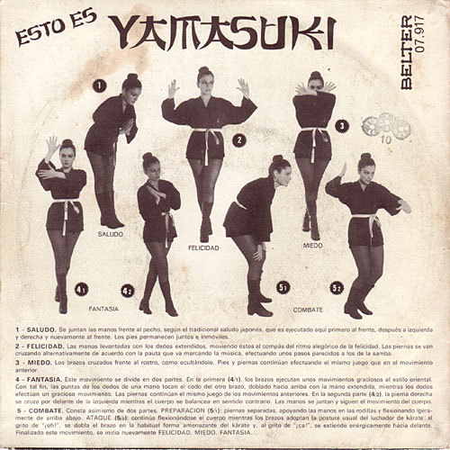 The Yamasuki Singers :: Le Monde Fabuleux Des Yamasuki …it began as a dance craze. And ended as something…else.
