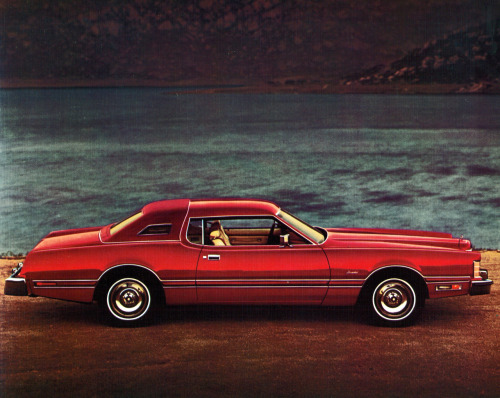 "process-vision:  1976 Ford Thunderbird ""Lipstick Luxury"""