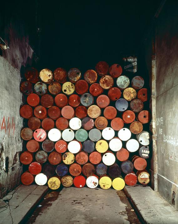composition-improvisation:  Christo & Jeanne-Claude, The Wall, c. 1999