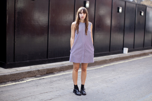 Mods are us. Go Quadrophenia style in J.W Anderson's striped mini dress.