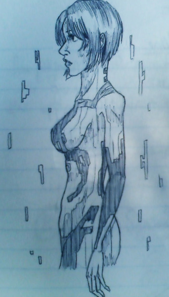 ichigobleachcake:  Things I do instead of taking Microeconomics notes :| Drawn without references, obvi. Also drawn in really shitty pen.