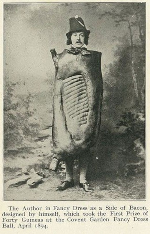 flavorpill:  a bacon costume from 1894