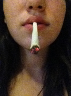 My piff spliff last night mmmm :)