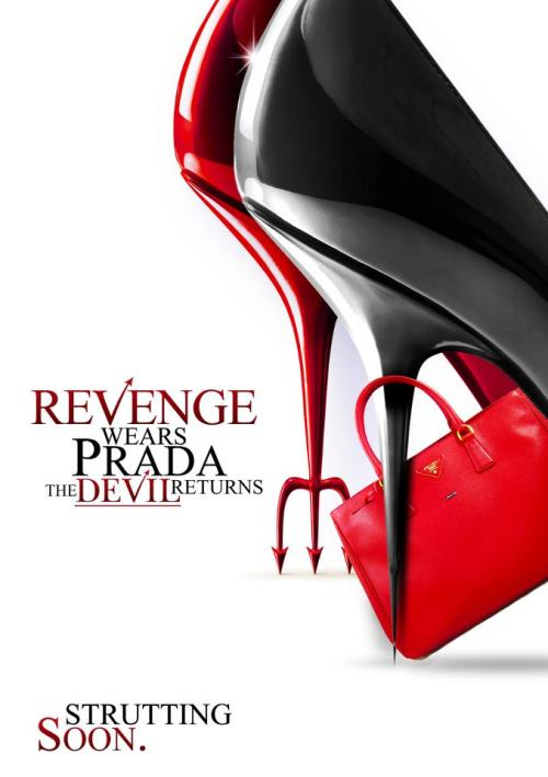 "cda685:  RT if you are excited about ""Revenge Wears Prada: The Devil Returns""  Well sure…but even watching the first one I always forget that it's not a movie about Miranda and Andy getting together….guess I've been reading too much fanfiction…what am I saying, one can never read too much Mirandy ;)But if Meryl isn't playing Miranda again I'll reserve judgment…"