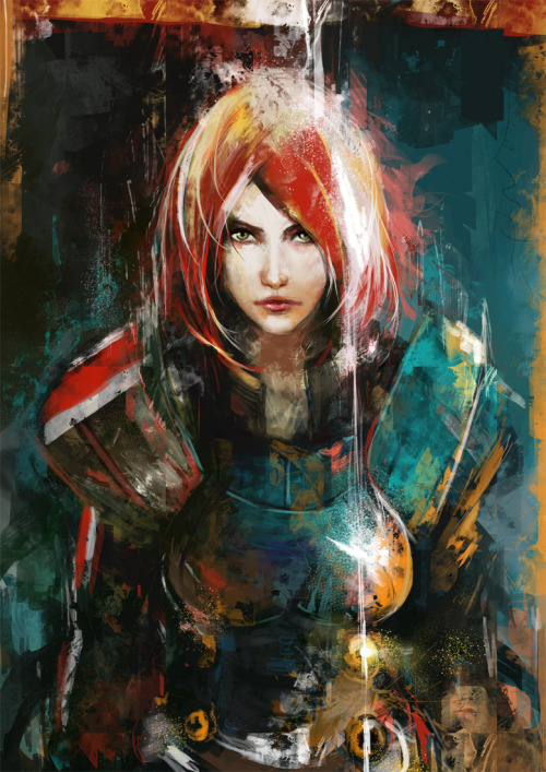 meagan-marie:  All the likes.  mikewc:  N7 VII Art By Muju