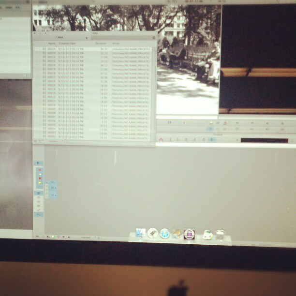 Learning Avid Media Composer. #NYU #film #tisch (Taken with Instagram at Tisch School Of The Arts)