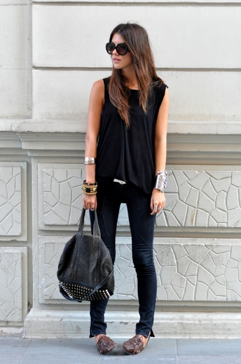 When all else fails, black is always chic!