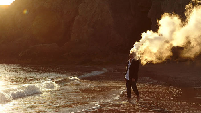 inspirezme:  Is my head on fire.. by Romain Laurent. [via: illusion]