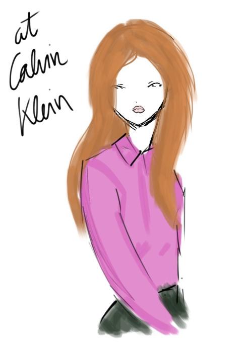showstudio:  At Calvin Klein SS 2013.