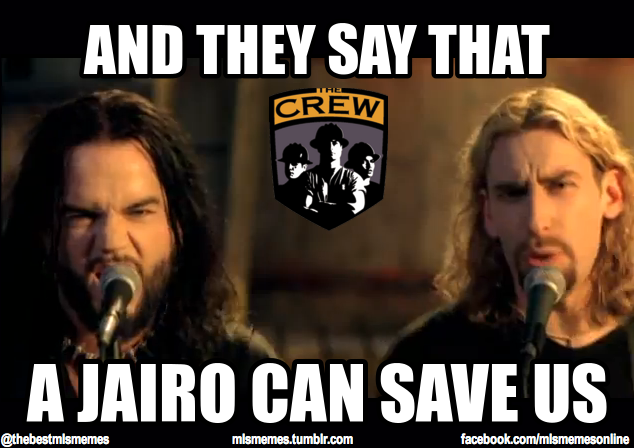 This remix will be played at his and Avril Lavigne's wedding. #MLS #Crew96