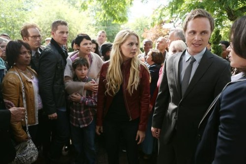 Everyone looks angry! Check out the premiere photos of Once Upon a Time.