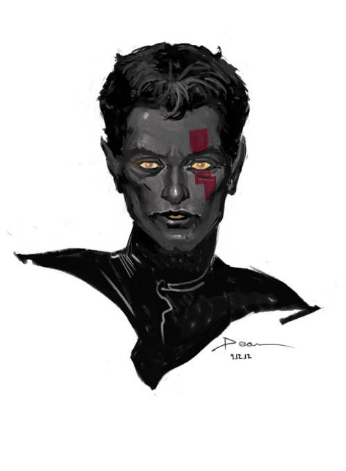 NightCrawler warm up sketch. Missing me some Uncanny X-Force so for my daily warm up thought I would do a AOA Nightcrawler. Done in roughly 20 to 30 minutes. Focus is just on Forms and getting the hand and mind working in the morning.
