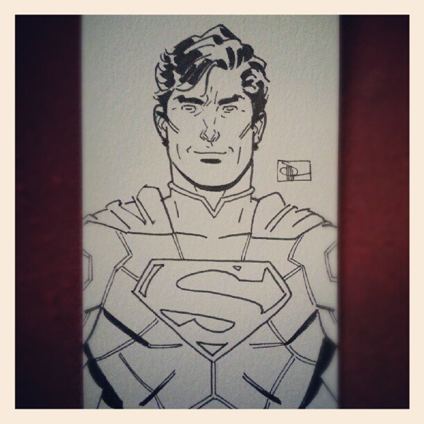 Look what @DocShaner sent me! #comics #Superman (Taken with Instagram)