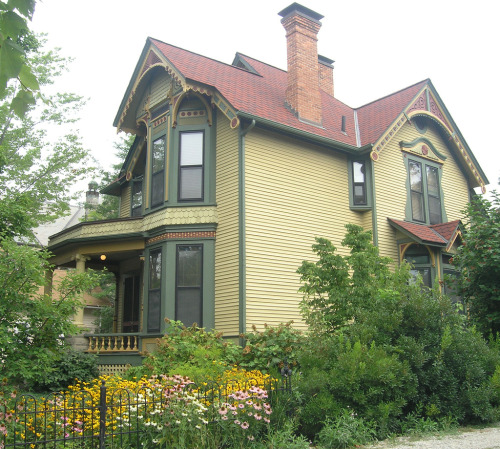 Victorian House on Packard Rd. in Ann Arbor, Michigan.  Photo by BradWithOlympus via Flickr.