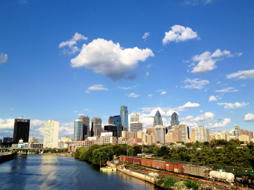 Love this city.   Philadelphia, PA. September 12, 2012.