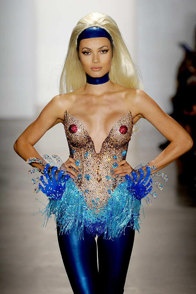 Honey Boo Boobs, from The Blonds, SS2013  Photo by BFA