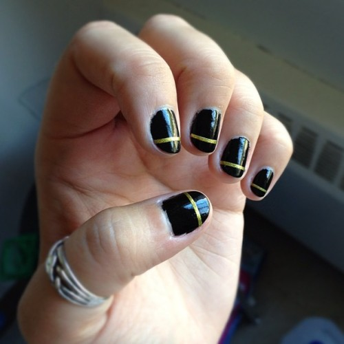 How'd I do? #nails 💅 (Taken with Instagram)