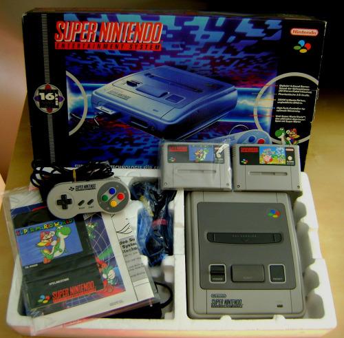 Super Nintendo Entertainment System Image via: VGC